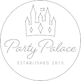 Party Palace Logo Dark Grey